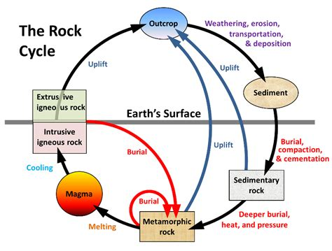 section 3 1 the rock cycle rock cycle www imgkid com the image kid has it