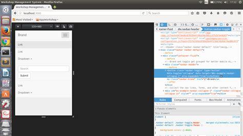 chrome javascript not working bootstrap navbar does not work properly on chrome for