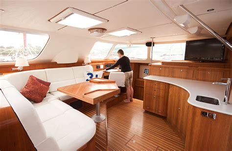 catamaran interior pics interior images antares catamarans by 40 grados sur
