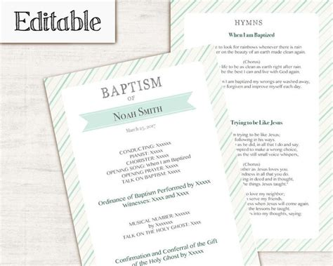 17 best ideas about baptism program on pinterest lds