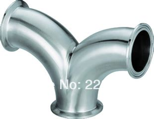 Sanitary Ss304 Dia 6 Inch image gallery stainless y pipe
