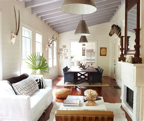 Formal Living Room And Dining Room Combo minus the animal heads this layout is ideal for a small space work for a formal living