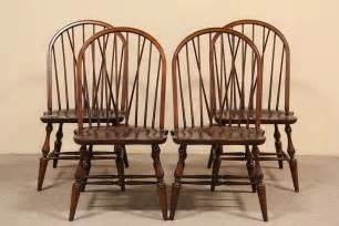 sold set of 4 pennsylvania house dining or