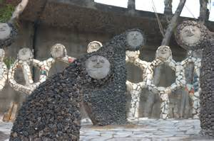 Rock Garden Chandigarh Nek Chand Creator Of The Rock Garden Of Chandigarh Passes Cfile Contemporary