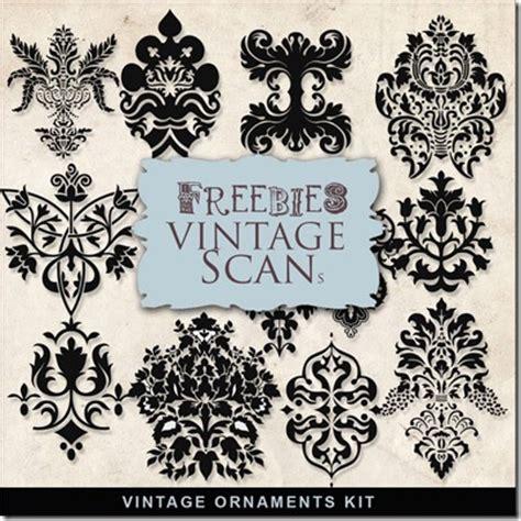 free printable vintage ornaments free st downloads design gorgeous vintage ornaments