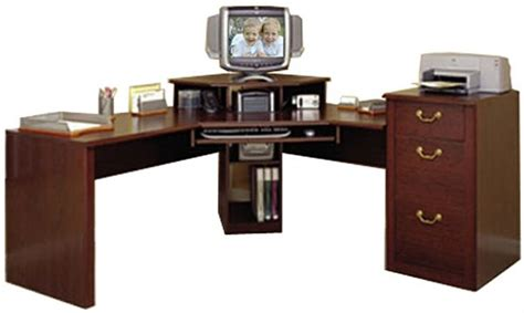 o sullivan corner desk o sullivan 10582 workcenter cherrywood estates vogue