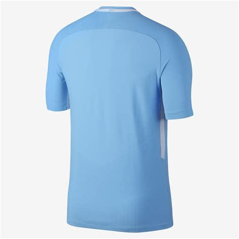 Manchester City 17 18 Home Kit Released Footy Headlines Nike Vapor Shirt Template
