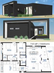 modern home plan small front courtyard house plan 61custom modern house