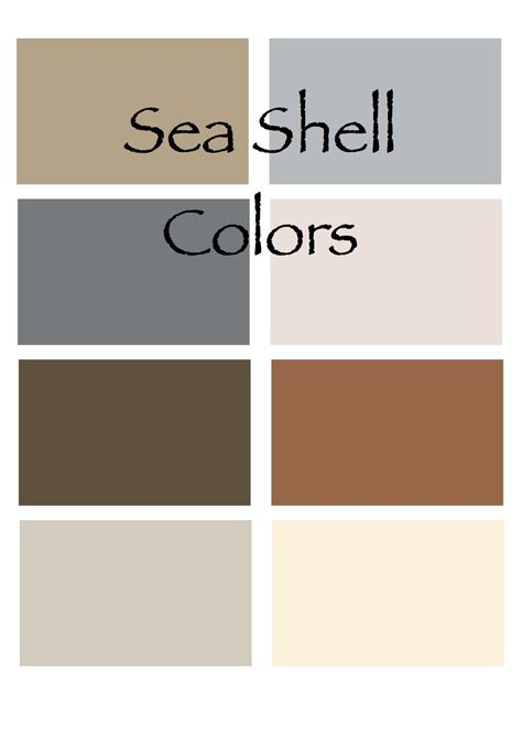 grab a handfull of shells and you ve got yourself the color palette decorating by