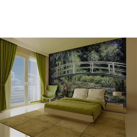 japanese wall mural monet japanese bridge wall mural iwoot