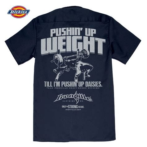 bench press shirt pushin up weight bench press shop shirt ironville