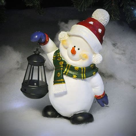 Kingfisher Solar Light Snowman 295cm Height On Sale Fast Solar Snowman Lights