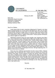templates 187 professional formal letter
