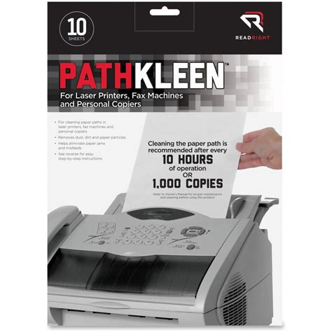 pathkleen laser printer cleaning sheets ld products
