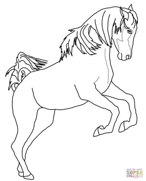 coloring pages of quarter horses paint horse grazing coloring page free printable coloring