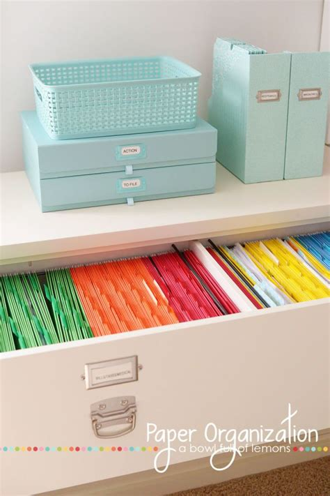 organizational tips 25 best home filing system ideas on filing