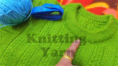 how do i finish knitting introduction to neck sweater how to knit
