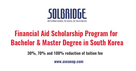 Mba Scholarships For Myanmar Students by Financial Aid Scholarship Program For Bachelor Master
