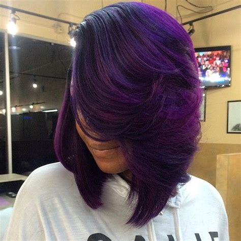 purple hair styles for black hair 877 best images about bad ass hair styles and color on