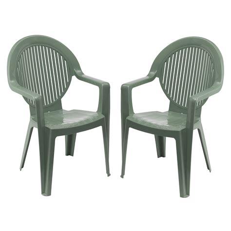 fauteuils soldes soldes lot 2 fauteuils fidji grosfillex vert tous les produits salon jardin prixing