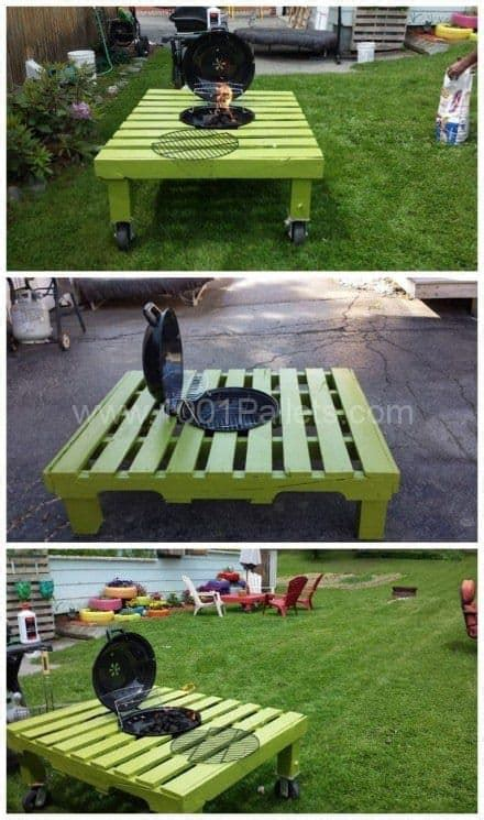 pallet pit pit ideas diy outdoor living that won t the bank