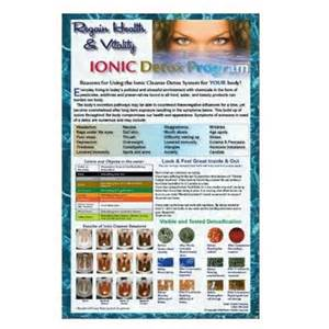 ionic foot bath colors 100 color tri fold brochures to promote ion ionic detox