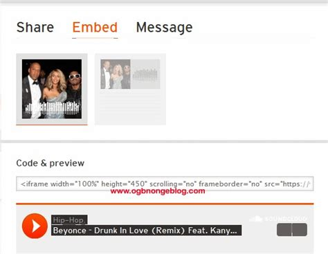 download mp3 from embed code embed soundcloud free music player on blogger in easy steps