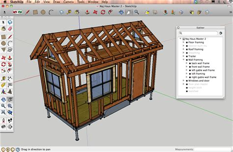 haus house designing a tiny house in sketchup tutorials resources naj haus