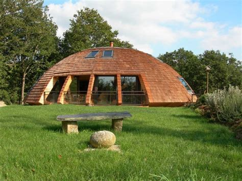 rotating house the ufo like domespace rotating wooden house