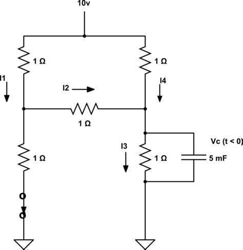 capacitor circuit solver capacitor how to solve order rc circuit electrical engineering stack exchange