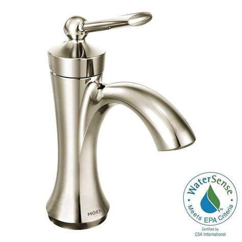 moen single lever bathroom faucet moen brantford single hole single handle low arc bathroom