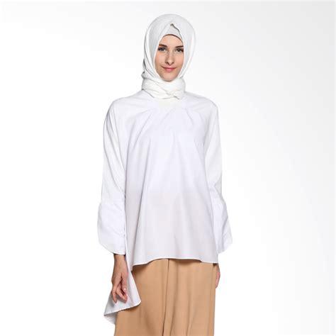 Freno Blouse Atasan Muslim Blouse Muslim jual restu anggraini fairin blouse atasan muslim wanita white harga kualitas