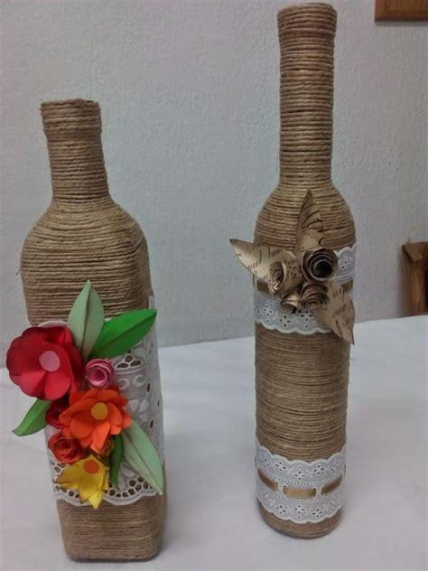 reciclaje de poma el rinc 211 n de carmen y sus manualidades botellas decoradas