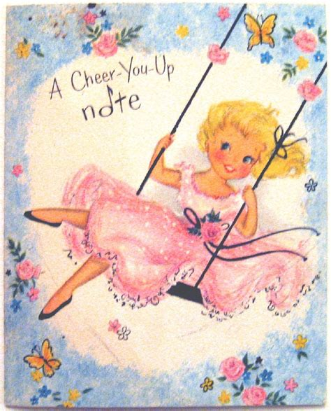 Mother Day Card vintage quot cheer you up quot greeting card vintage postcards