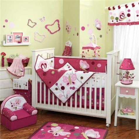 Lambs And Ivy Raspberry Swirl Crib Bedding And Nursery Lambs And Raspberry Swirl Crib Bedding