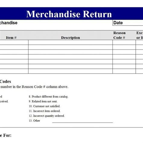 Rma Form Template Return Merchandise Authorization Form Template Intended For Rma Form Template Merchandise Return Label Template