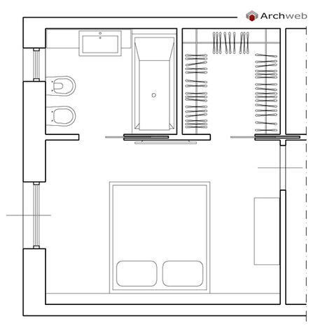 cabina armadio con bagno beautiful da letto con bagno e cabina armadio ideas