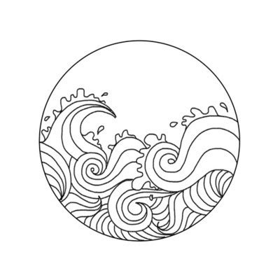 simple sketches sketches and waves on waves drawing search design in 2018