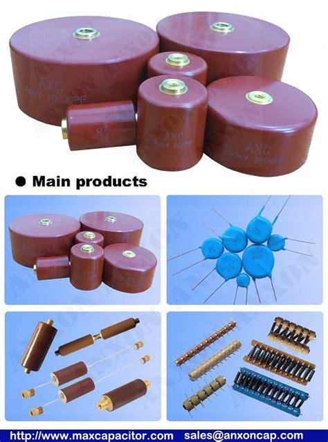 ceramic capacitor pulse rating cheap molded type capacitor 20kv 1400pf high voltage transformer ceramic capacitor of anxonelec