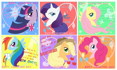 my pony valentines equestria daily mlp stuff tons of pony valentines