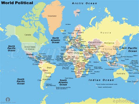 world political map image political maps of world