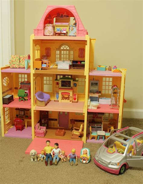 fisher price family doll house fisher price loving family grand mansion dollhouse people