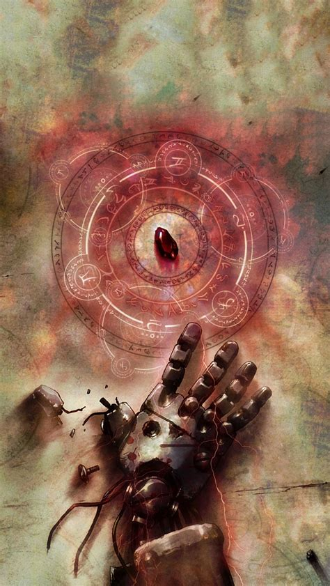 fullmetal alchemist phone wallpaper wallpapersafari