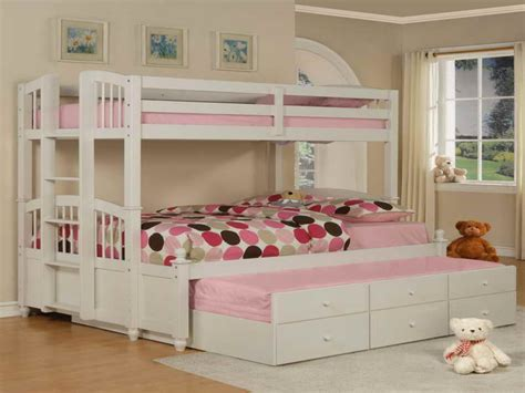 cute girl beds furniture cute white fold out bunk beds design stylish