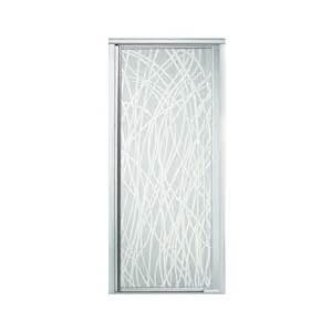 kohler sterling shower doors sterling by kohler vista pivot ii 65 5 quot x 42 quot pivot shower
