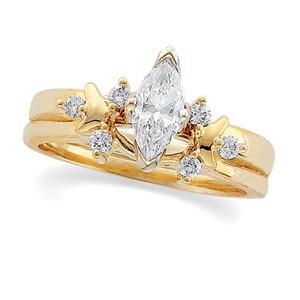 1/8 ct tw Diamond Wrap (Marquise Solitaire sold separately) [Item #: 07106:207395:P]   $647.00