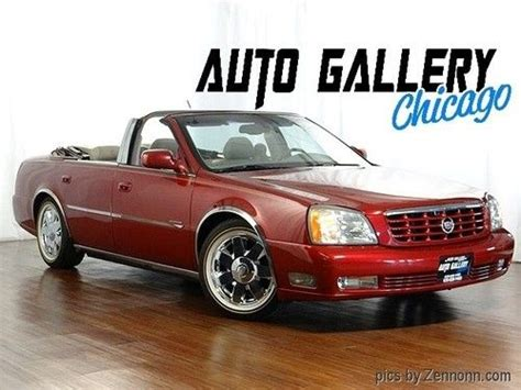Cadillac Dts Convertible by Sell Used 2004 Cadillac Dts Convertible In