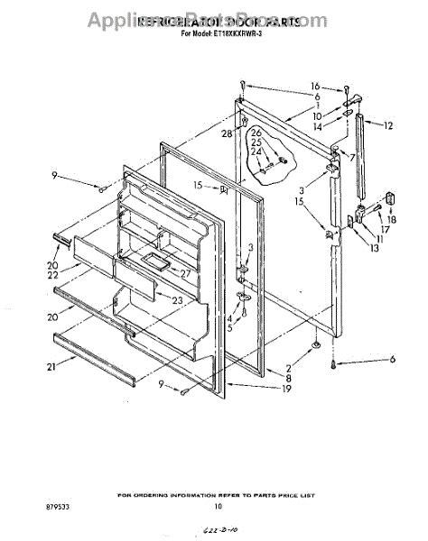 whirlpool refrigerators unit parts diagram samsung