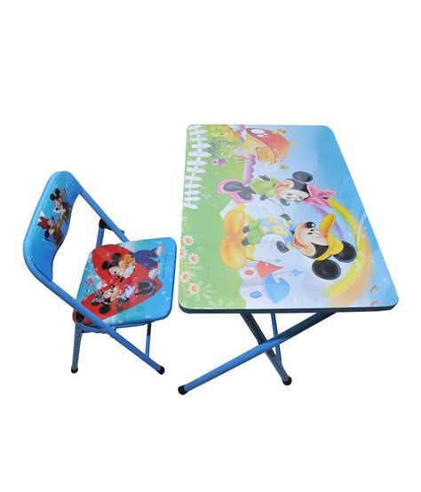 foldable study table and chair happy foldable study table and chair mickey mouse