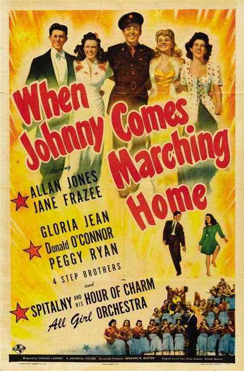 when johnny comes marching home posters from